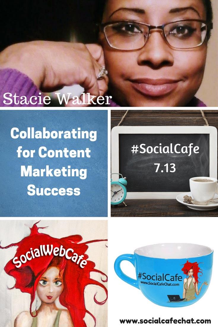 Collaborating for Content Marketing Success w/ @SocialWriter of @SocialWebCafe Summary %23SocialCafe