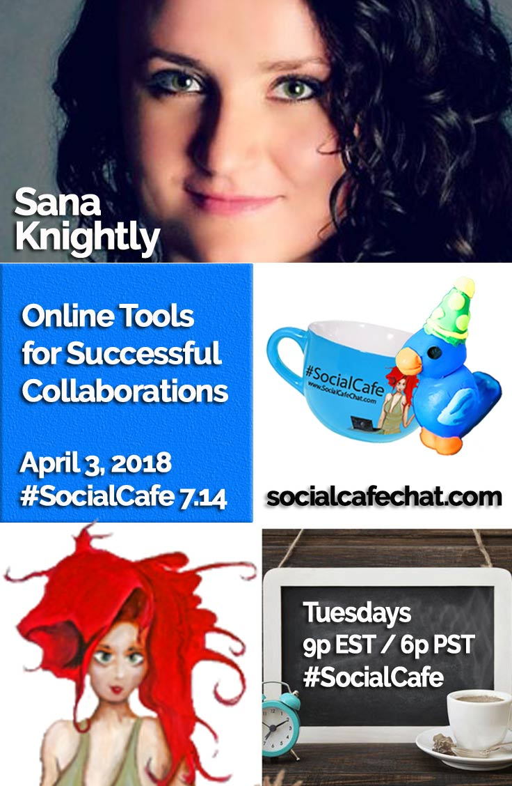 Online Tools for Successful Collaborations w/ @SocialWriter of @SocialWebCafe Summary %23SocialCafe