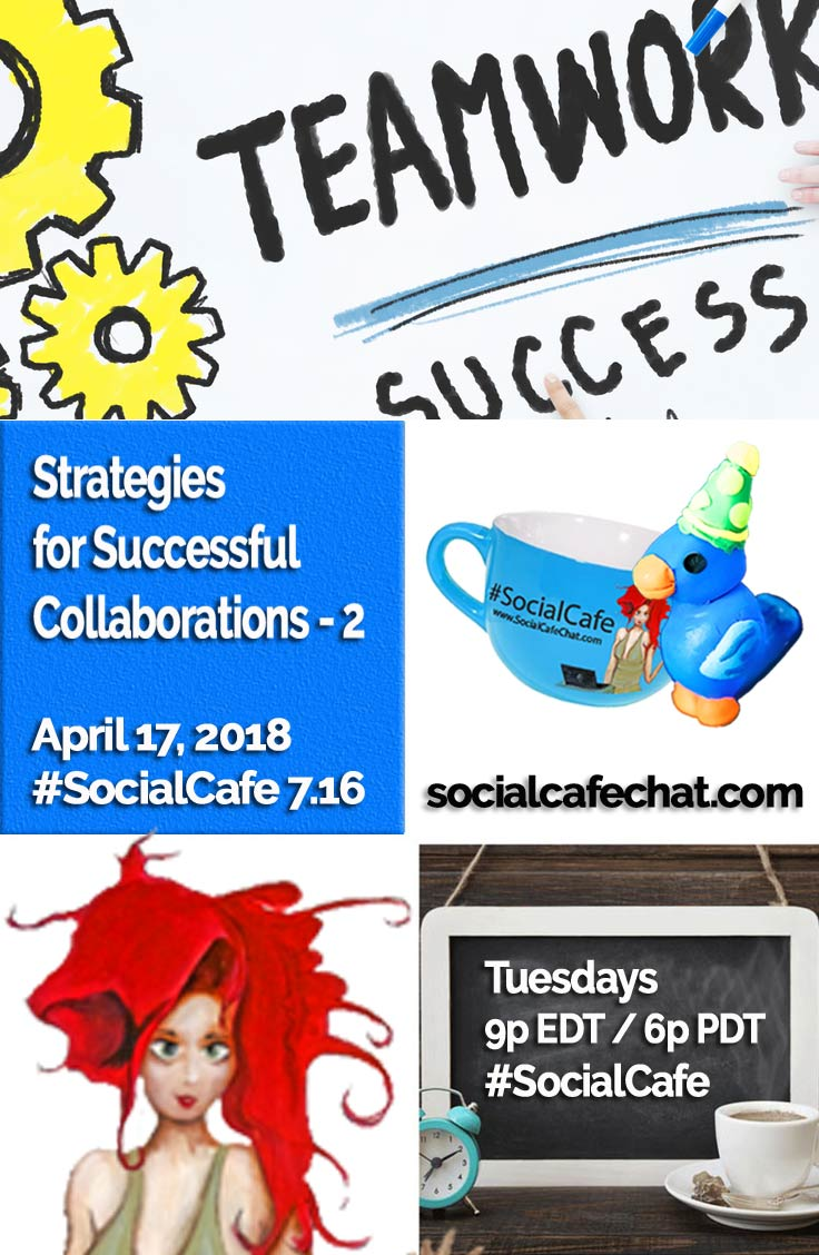 Strategies for Successful Collaborations - Part 2 w/ @SocialWriter of @SocialWebCafe Summary %23SocialCafe