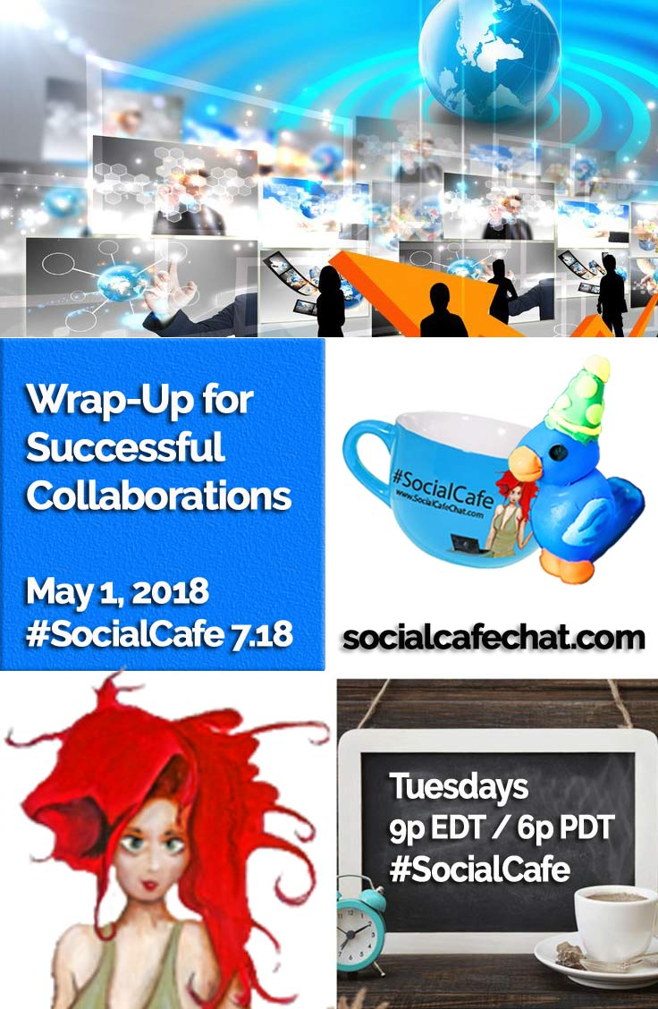 Wrap-Up for Successful Collaborations w/ @SocialWriter of @SocialWebCafe Summary %23SocialCafe